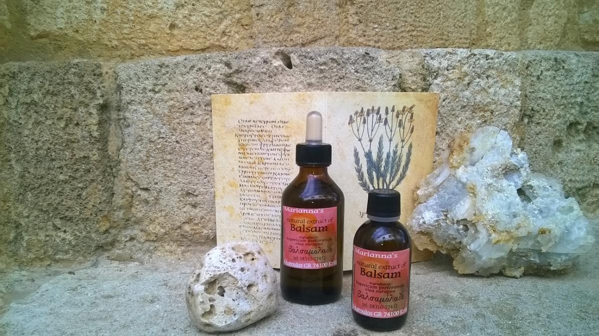 Natural extract of Balsam