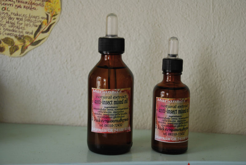 Anti-Insect Mixed Oil