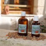 Natural extract of Myrrh (Commiphora Myrna)